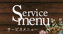 サービスメニュー